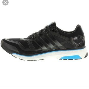 Adidas energy boost 2 Black Running Shoes